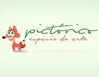 Logotipo para espacio de arte