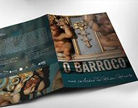 Barroco Mineiro I Folder para exposição
