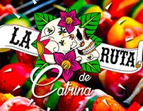 Diseño de logotipo La Ruta de Catrina