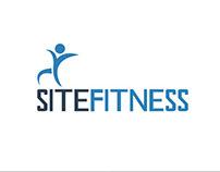 Logotipo e Animação Institucional - Site Fitness