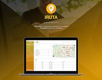 Dashboard UI - UX - iRuta