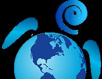 Logo para projeto de proteção a tartarugas marinhas