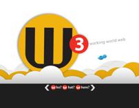 W3 working world web  - Website