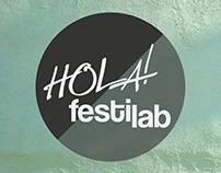 // Diseño de imagen para el HOLA! festilab