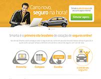 SMARTIA Online Insurance Site 2013