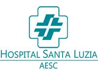 Atualização de Logomarca para o Hospital Santa Luzia
