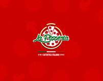 La Pizzeria -Logo Design