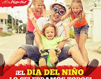 Redacción. Pizza Hut. Campaña Día del Niño