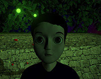 Personaje de mi corto Animado