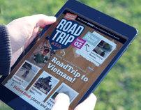 RoadTrip Magazine Template #2 for iPad