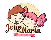 Logo - João e Maria Confeitaria