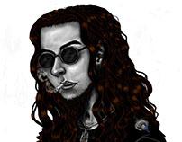 Portrait Slayer Fan