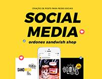Ordones Sandwish Shop | Social Media