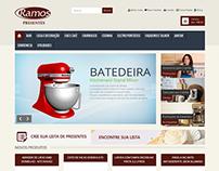 Desenvolvimento da Loja Virtual Ramos Presentes