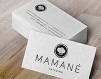- Mamané catering - Rebranding y tarjetas personales