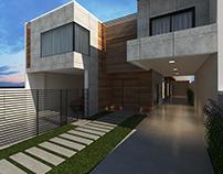 Maquete Virtual - Residência sustentável