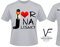Job - Camisa do Curso de Jornalismo