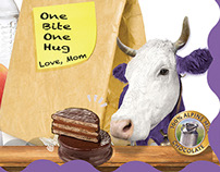 Example of a Milka Ad.