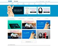 Proyecto Rediseño YPF Serviclub