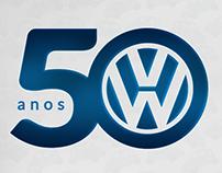 Logo 50 anos | Correauto