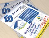 Panfletos - Santoro Imóveis