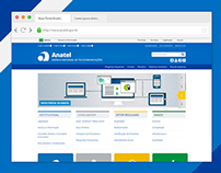 Website - Portal Anatel