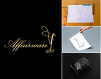 AFFAIRWARE LOGO AND PACKAGING DESIGN
