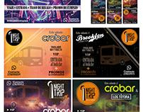 Imagotipo; banners; flyers para redes sociales