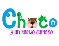 Concept Art-Choco y un mundo curioso
