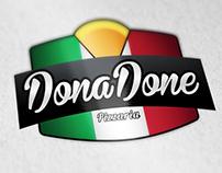 Logo para Pizzaria Dona Done
