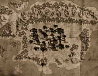 "Map Design for ""Darkness Falls"""