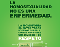 Sistema de Afiches - Homofobia