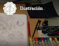 Algunos proyectos de ilustración