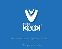 Sitio Web Studio KEOK