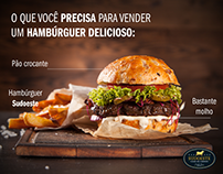 Campanha Hambúrguer- Casa de carnes Sudoeste