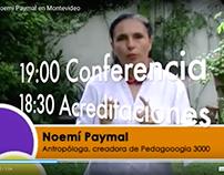 Conferencia de Noemi Paymal en Montevideo