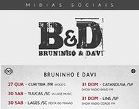 Projeto de Mídias Sociais - Bruninho e Davi