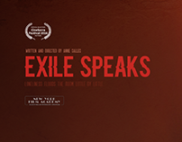 EXILE SPEAKS (2016) - Shortfilm