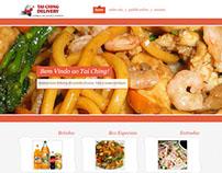 Website Restaurante Chinês Tai-Ching