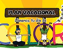 Ilustración para Plan Vacacional / Ilustration