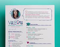 Curriculum Vitae | Valeria Gamarra