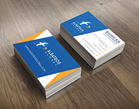 Diseño de tarjetas corporativas (2015)