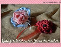 Flores y Crochet