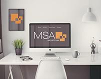 Projeto de Identidade Visual MSA Arquitetura