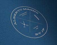 Diseño de Logo para Peluquería Alberto Magno