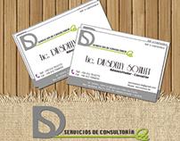 Diseño de Logo y Tarjetas de Presentación para DS
