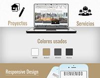 Diseño Página Web - Arquitech