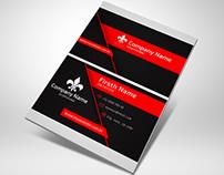 Cartão de Visitas - Black&Red