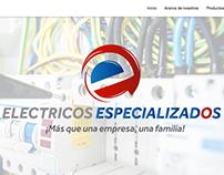Web Electricos Especializados