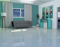 Ambientação de sala